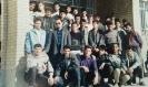 دانش آموزان سال چهارم دبیرستان شهید حیدر غریبی میلاجرد در تاریخ ۴بهمن ۱۳۷۳